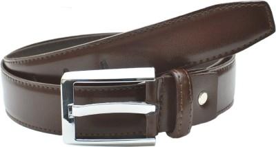BROUNPLUS Boys, Men Evening, Formal, Party Brown Genuine Leather Belt