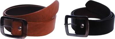 Val-U Men Black Genuine Leather Belt
