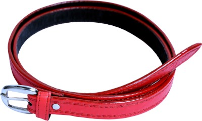 Contra Women Red Synthetic Belt