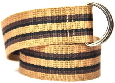 Anekaant Boys, Girls Casual Beige Fabric Belt