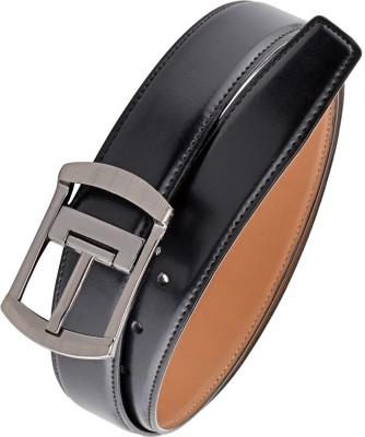 Rhino Men Black, Brown Artificial Leather Reversible Belt