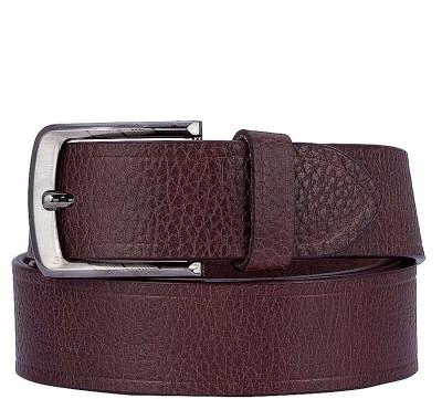 Coconut Men Casual Brown Genuine Leather Belt