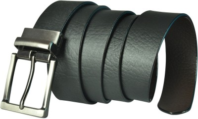Saugat Traders Men, Boys Formal, Casual, Evening, Party Black Genuine Leather Reversible Belt