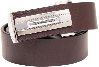 Leather Plus Men Formal Brown Genuine Leather Belt