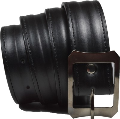 styzon Men, Boys Casual, Party, Formal Black Synthetic, Artificial Leather Belt