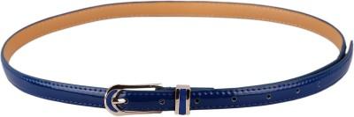 Stylehoops Women, Girls Casual, Party, Evening Blue Artificial Leather Belt