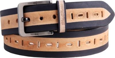 Black Horse Men Casual, Evening, Formal, Party Multicolor Genuine Leather Belt