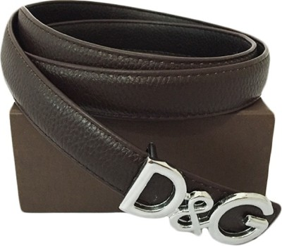 Zaira diamond Women Brown Genuine Leather Belt