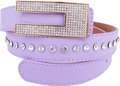 Super Drool Women, Girls Casual, Party, Evening Purple Synthetic Belt