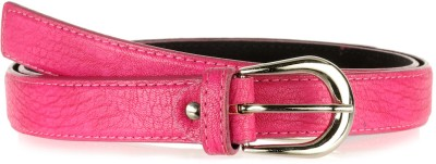 Allura Women Evening/Party, Casual, Semi-formal Pink Synthetic Belt