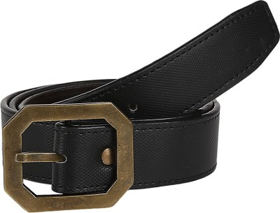 Allura Men Casual Brown Artificial Leather Belt