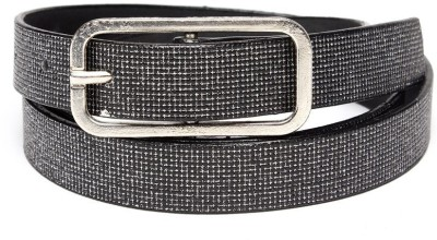 TOBO Women Casual Black Synthetic Belt