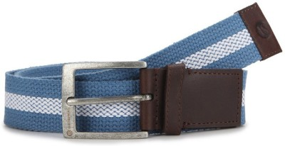 American Swan Men Casual Blue Fabric Belt