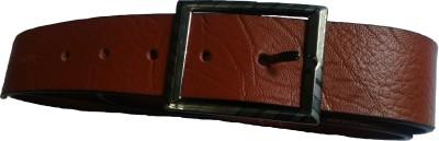 Sahara Boys, Men Brown Genuine Leather Belt