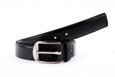 BROUNPLUS Boys, Men Formal Black Artificial Leather Belt