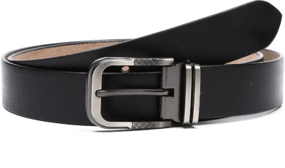 DHide Designs Men Casual, Party, Formal, Evening Black Genuine Leather Belt