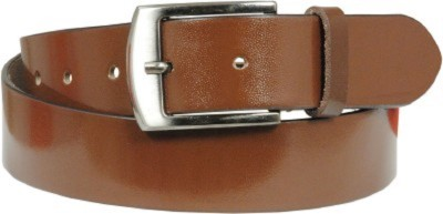 kamalgarments Men Brown Artificial Leather Belt