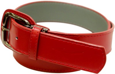 Mizuno Men Formal Red Genuine Leather Belt