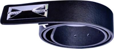 VICTORIA SECRET INDIA Men Black Artificial Leather Belt