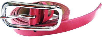 Avichelle Girls, Women Evening, Formal Pink Artificial Leather Belt