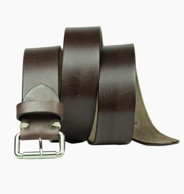 99Cells Men, Women Casual Brown Genuine Leather Belt