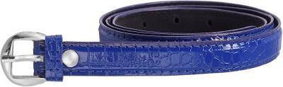 palito Women, Girls Blue Genuine Leather Belt