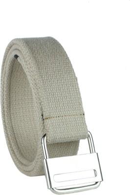 Revo Men Casual Grey Canvas Belt
