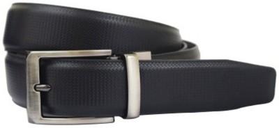 JK Import Boys, Men Black Genuine Leather Belt