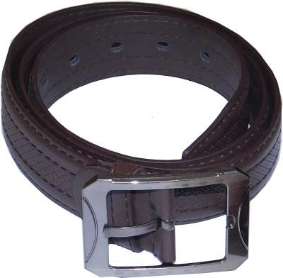 JTM Trading Men, Boys Casual, Party, Formal, Evening Black Artificial Leather Belt
