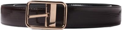 Heaven Deal Men Casual Brown Artificial Leather Belt