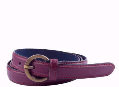 Modishera Women, Girls Casual, Party Tan Artificial Leather Belt