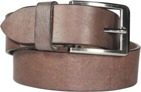 Blis Vogue Men, Boys Casual, Party Brown Genuine Leather Belt