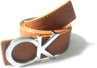 RK IMPORT Boys Brown Genuine Leather Belt