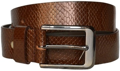 Bueva Men Casual, Formal Brown Genuine Leather Belt