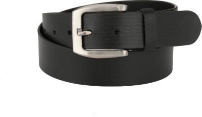 Jupiter Men Black Genuine Leather Belt