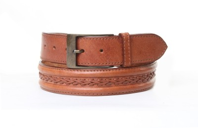 Thayla Boys Tan Genuine Leather Belt