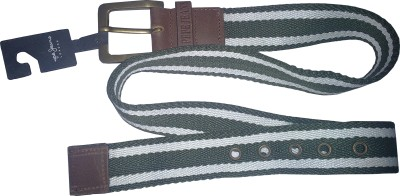 Pepe Jeans Men Fabric, Genuine Leather Belt