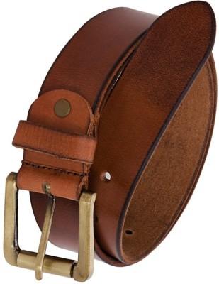 Bigshoponline Men Brown Genuine Leather Belt