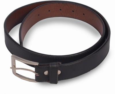 VICTORIA SECRET INDIA Men Formal Black Artificial Leather Belt
