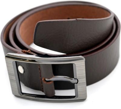 Urban Diseno Men Casual Brown Genuine Leather Belt