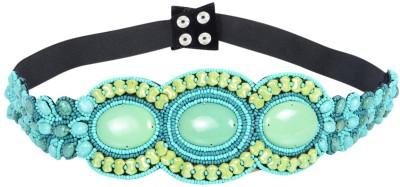 Uptown Laila Women Party Green Synthetic Belt