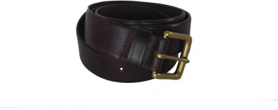 Vickiana Quest Boys, Men Casual, Formal Maroon Genuine Leather Belt