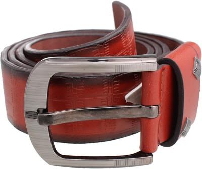 Tele Queen Men Casual Red Artificial Leather Belt