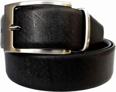 SGE Men, Boys Formal, Party, Evening Black, Brown Genuine Leather Reversible Belt
