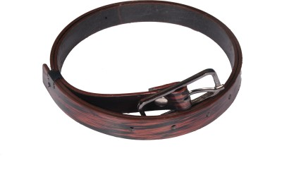 D Jindals Women Casual Maroon Synthetic Belt