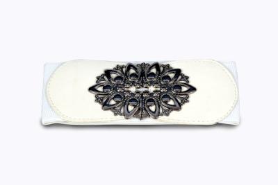 Victoria Secret Women White Fabric Belt