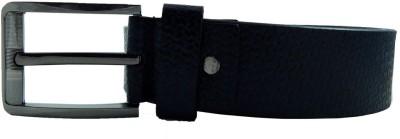 Woods Men, Boys Casual, Formal Black Genuine Leather Belt