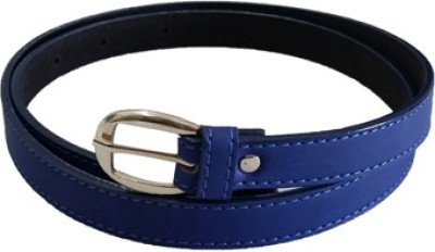 Verceys Girls, Women Casual Blue Artificial Leather Belt