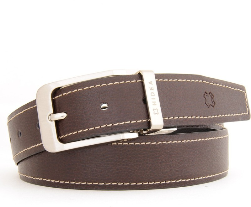 Hidea Men Formal Multicolor Genuine Leather Reversible Belt