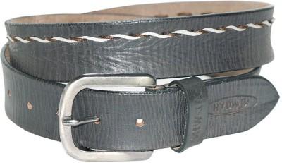 Hadwin Men Casual Black Genuine Leather Belt